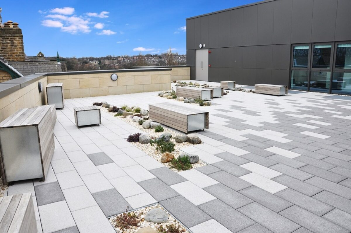Functional Flat Roofing Utilised Unused Space Soprema United Kingdom